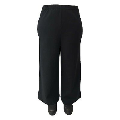 NEIRAMI trousers women's sweatshirt black large 95%cotton 5% elastane