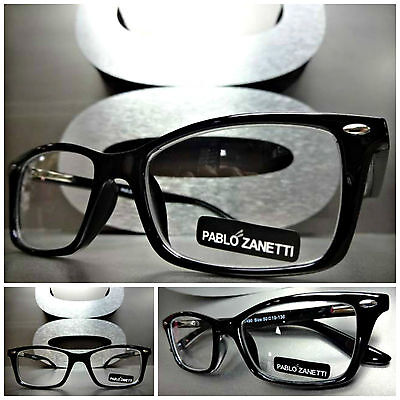 Men's CONTEMPORARY SOPHISTICATED Style READING GLASSES READERS Black Frame +2.50
