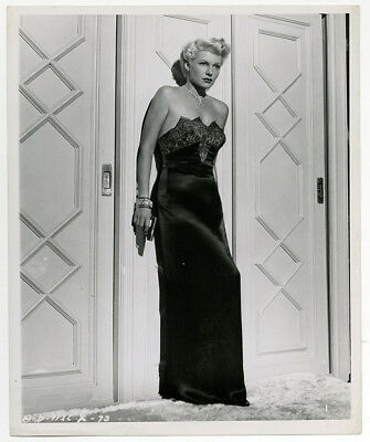 Vintage 1947 Rita Hayworth Photograph Lady from Shanghai Risqué Film Noir Gun