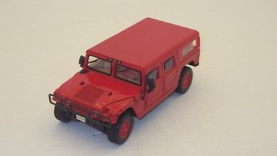 Maisto Hummer 1/27 Scale Die-Cast Red