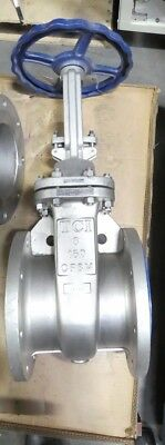 R144372 TCI 8 150 CF8M Flanged Manual Control Gate Valve - Ta Chen International