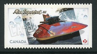 "Weeda Canada 2487i VF NH Die cut 2011 ""Miss Supertest"", from Annual Collection"