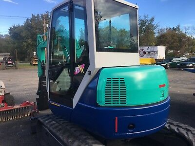 mini excavator IHI 45 NX 1800 HRS HYD THUMB , SAFE LOC COUPLER , 2 BUCKETS