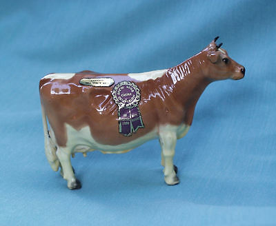 Mortens Studio Royal Designs Show Ring Cattle Collection Tru Type Guernsey 1940S