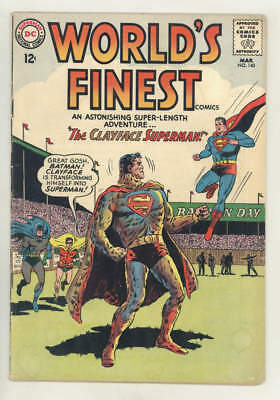 March 1964 WORLD'S FINEST #140 THE CLAYFACE SUPERMAN