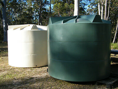 9,000 Litre Poly Water Tanks, New Unused, Due To Change Of Plans - 3 Only Left!