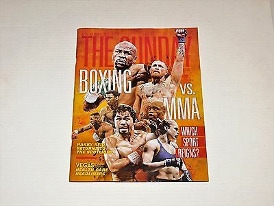 The Sunday Magazine Floyd Mayweather / Conor McGregor BOXING vs MMA Issue 2017