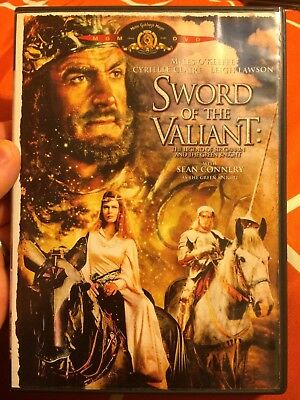 SWORD OF THE VALIANT (1984) DVD OOP! RARE (MGM, 2004) Sean Connery Peter Cushing