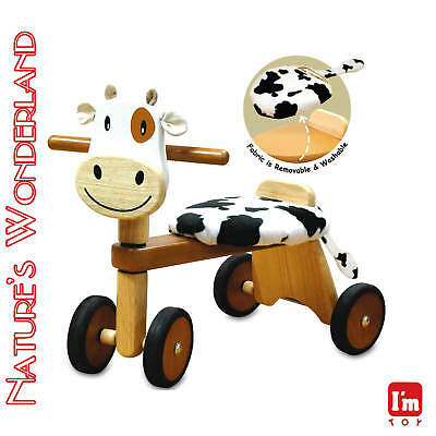 Paddie Rider CALFIE Ride-on Push Trike Pet - I'm Toy Eco sustainable rubber wood
