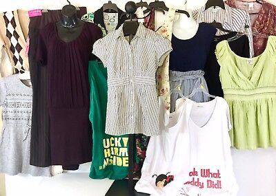 Motherhood Maternity Mimi Maternal Amer Loft Dresses Pants NWT Tops Sweaters LOT