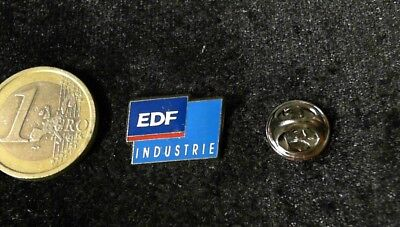 EDF Electricite de France Industrie Logo Pin Badge