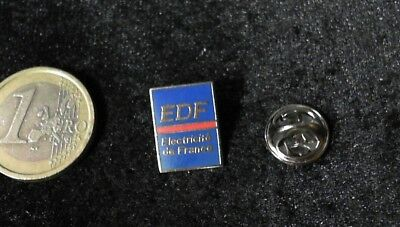 EDF Electricite de France Logo Pin Badge v2