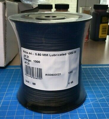 RITZA 44 0.6mm Lubricated Silicon Thread for Leather Machine Sewing Julius Koch