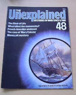 The Unexplained Magazine No 48 Mary Celeste Mammoths. Paranormal Etc