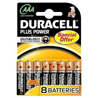 "Duracell Micro MN2400 Plus Power Duralock in 8er-Blister ""Special offer"""