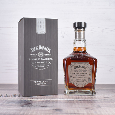 Jack Daniels Single Barrel 100 Proof Limited Edition Bourbon Whiskey Duty Free