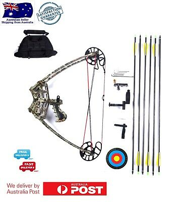 Hot 45LBS 6 arrows Left right Handed Magnesium Alloy Triangle Bow Archery Set