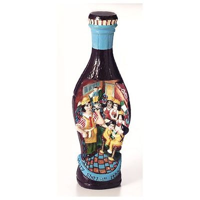 Coca-Cola Folk Art bottle US Shelley limited2,500 from Japan