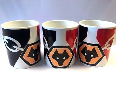 Wolves Wanderers Football Club Black Country mug ,Funny fathers day Gift