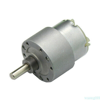 3.5RPM DC 12V High Torque Cylinder Electric Micro Motor Gearbox Slow Down Mute @