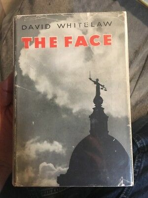The Face By David Whitelaw 1937 Hcdj Uk Mystery Rare Collectible
