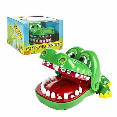 New Funny Big Crocodile Mouth Dentist Bite Finger Toy Family Game For Kids Xmas