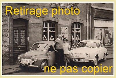 retirage photo renault 4cv dauphine congr s des mutil s du travail femme crochet eur 6 00. Black Bedroom Furniture Sets. Home Design Ideas