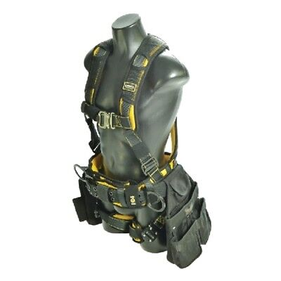 Guardian 21034 Cyclone Construction Harness M-L Quick Connect Chest/Leg TB Waist