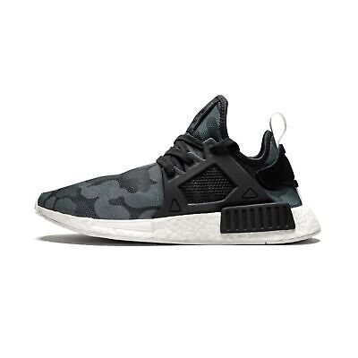 e61fb15ee  BA7231  Mens Adidas Originals NMD XR1 Sneaker - Core Black Duck Camo Mesh