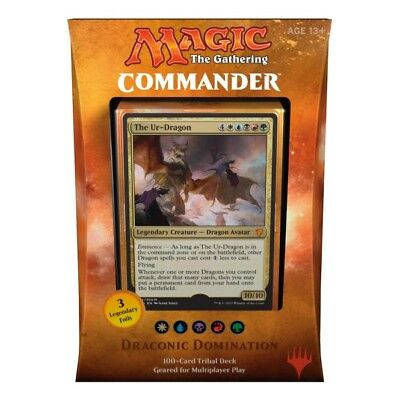 Magic the Gathering – Draconic Domination Commander 2017 Deck