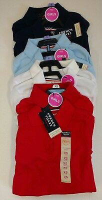NEW 2 Pk French Toast GIRLS Short Sleeve Polo Official Schoolwear - Variety