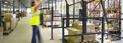 Mezzanine Floor Pallet Gate (New)