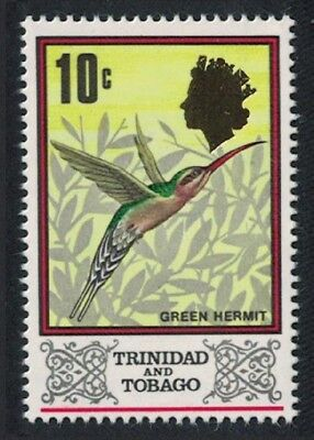 Trinidad and Tobago Green Hermit Bird 1v 10c SG#344