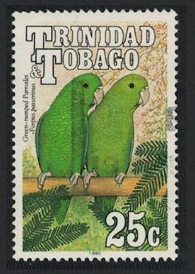 Trinidad and Tobago Green-rumped Parrotlet Birds 1v 25c canc SG#788