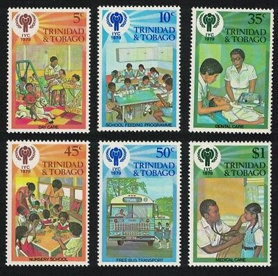 Trinidad and Tobago International Year of the Child 6v SG#532-537
