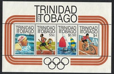 Trinidad and Tobago Cycling Sailing Swimming Olympic Games Los Angeles MS