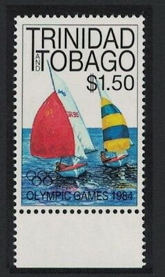 Trinidad and Tobago Sailing Olympic Games Los Angeles 1v $1.50 with margin