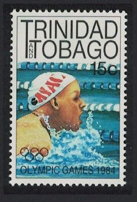 Trinidad and Tobago Swimming Olympic Games Los Angeles 1v 15c SG#656