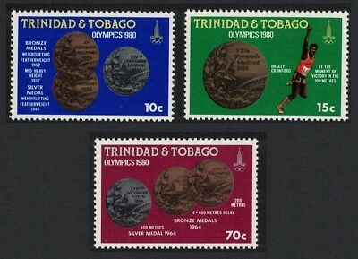 Trinidad and Tobago Olympic Games Moscow 3v SG#568-570