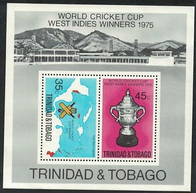 Trinidad and Tobago West Indian Victory in World Cricket Cup MS SG#MS476