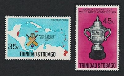 Trinidad and Tobago West Indian Victory in World Cricket Cup 2v SG#474-475