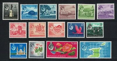 Trinidad and Tobago Birds Definitives 15v COMPLETE SG#284-297 CV£50+