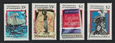 Trinidad and Tobago 150th Anniversary of Abolition of Slavery 4v SG#661-664