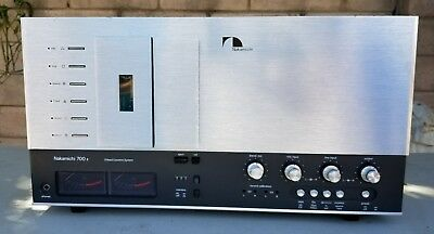 Vintage Nakamichi 700 Ii 3 Head Stereo Cette Deck Tape Player Repair Or Part