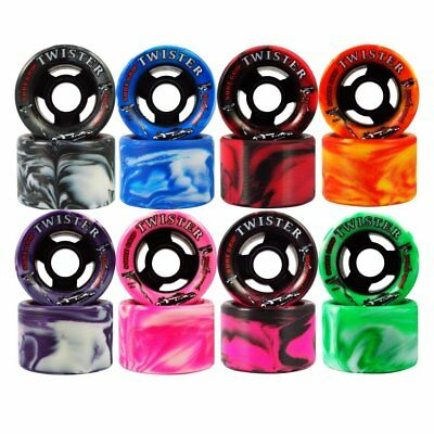 New Twister Wheels 8 Pack Roller Derby Roller Skating FREE SHIPPING
