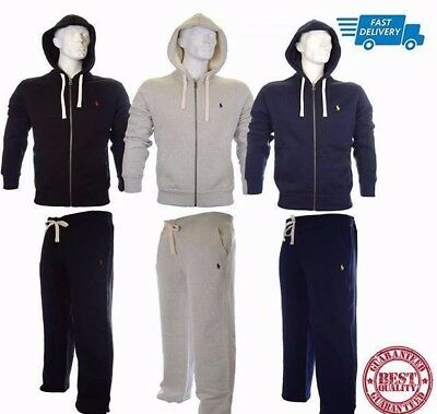 Polo Ralph Lauren Full Tracksuit S/M/L/XL Colours: Blue/Black/Grey In Stock Now!