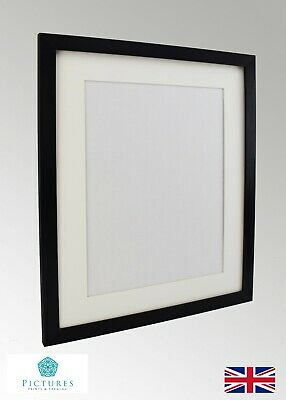 """Black Photo Picture Poster Panoramic Frame Off White MOUNTS 12x12""""-22x34""""  A2"""