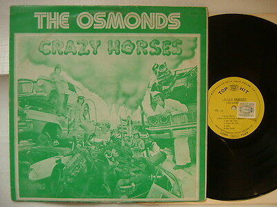 THE OSMONDS - CRAZY HORSES / ASIA CHINA TAIWAN ISSUE ja