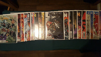 Marvel Extraordinary X-Men 19 Comic lot #1-9,11-20 2015 Near Complete Run