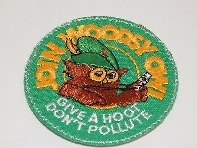 Join Woodsy Owl Give A Hoot Don't Pollute Patch
